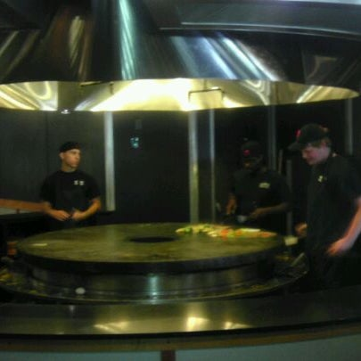 Photo taken at HuHot Mongolian Grill by Karlos on 6/5/2012