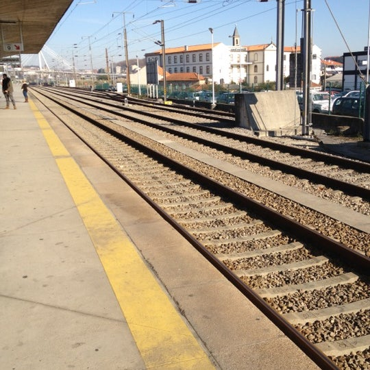 Photo taken at Estação Ferroviária de Porto-Campanhã by André M. on 1/22/2012