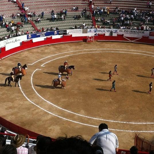 Foto tomada en Plaza de Toros Nuevo Progreso por Alan Daniel R. el 3/4/2012