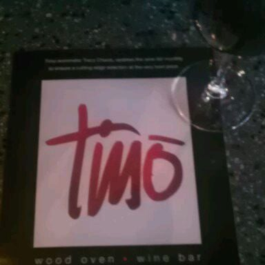 Photo taken at Timo Wine Bar by Shawn F. on 10/15/2011