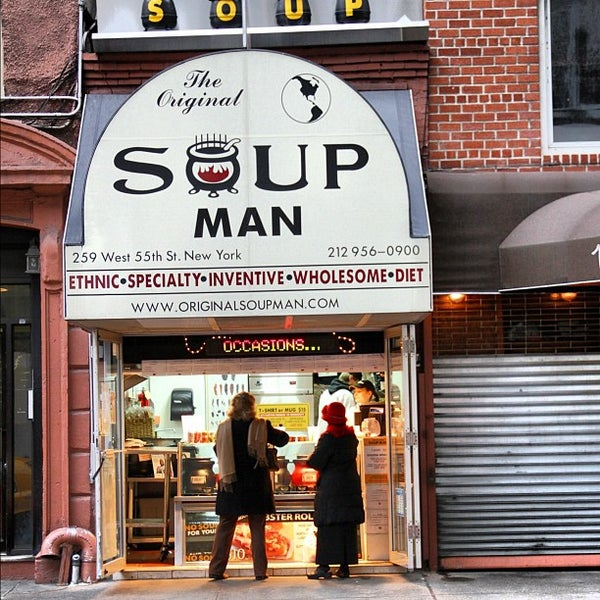 The Original Soupman - Suppenküche in Theater District