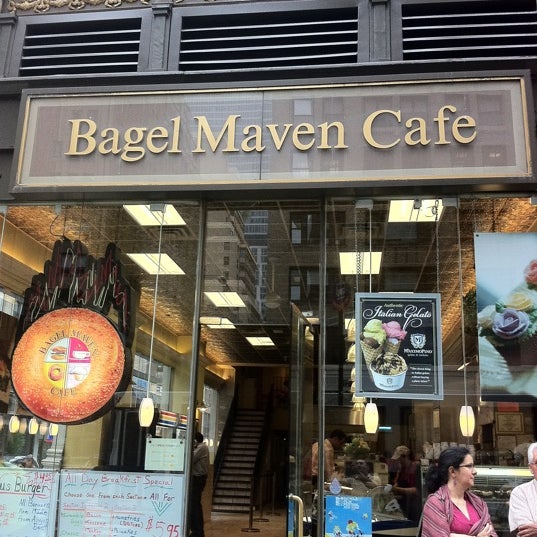 Columbus Bagel Cafe New York Ny