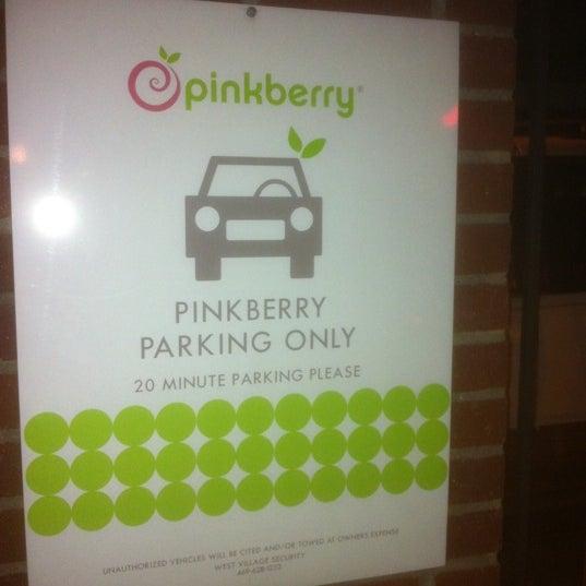Photo taken at Pinkberry by Matt B. on 2/19/2011