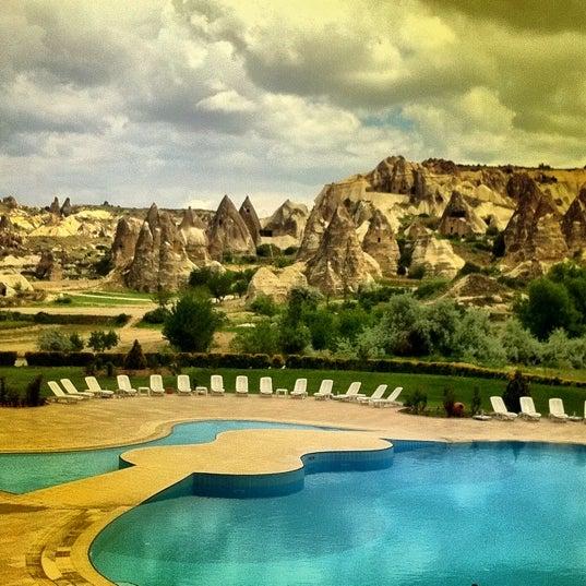 5/26/2012 tarihinde Asli D.ziyaretçi tarafından Tourist Hotels & Resorts Cappadocia'de çekilen fotoğraf