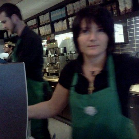 Photo taken at Starbucks by Krissi R. on 10/29/2011