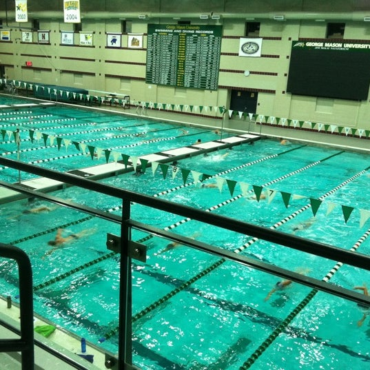 Photo taken at Aquatic and Fitness Center - George Mason University by David Y. on 9/10/2011