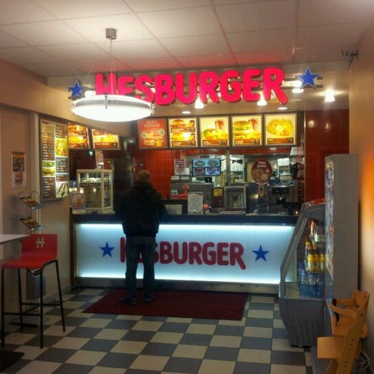Photo taken at Hesburger by Janis K. on 11/22/2011