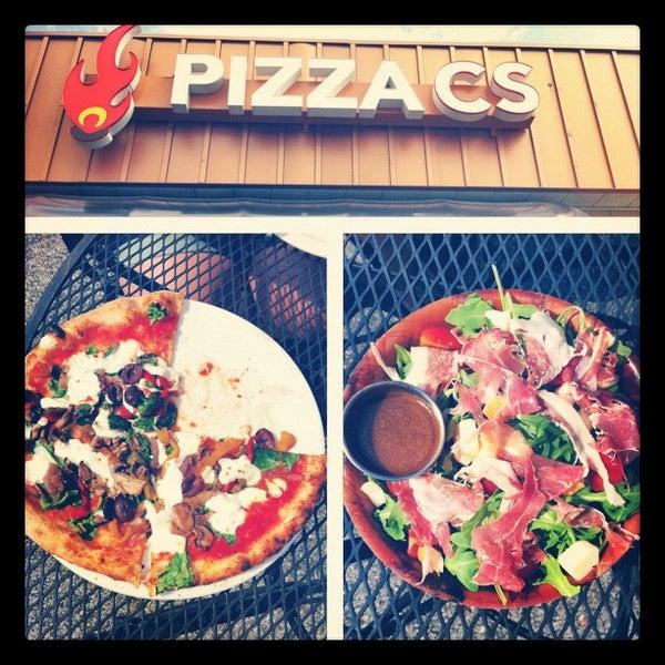 Photo taken at Pizza CS by Boris on 6/2/2012