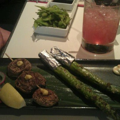 Photo taken at Katsuya Brentwood by Christina V. on 12/16/2011