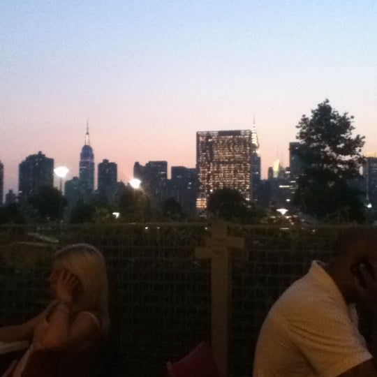 The city skyline view from the patio is absolutely gorgeous! Get a seat at the patio area if possible.