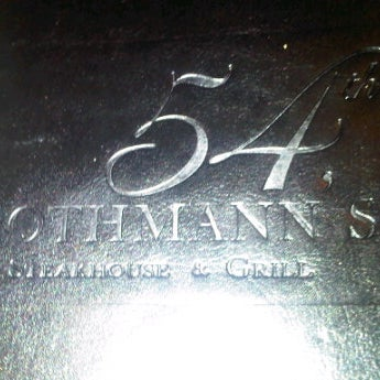 Photo taken at Rothmann's Steakhouse by SWANKY on 1/23/2012