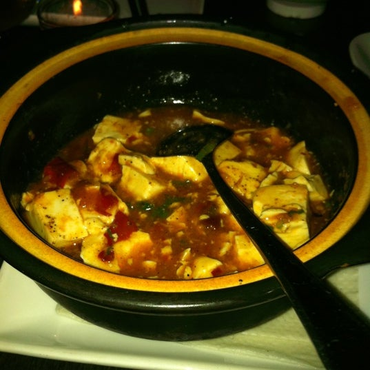 Pretty good Mapo Tofu. But the white rice is another story!!!