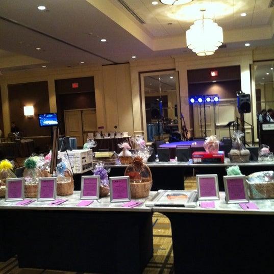 Photo taken at The Saratoga Hilton by Ron B. on 3/31/2012