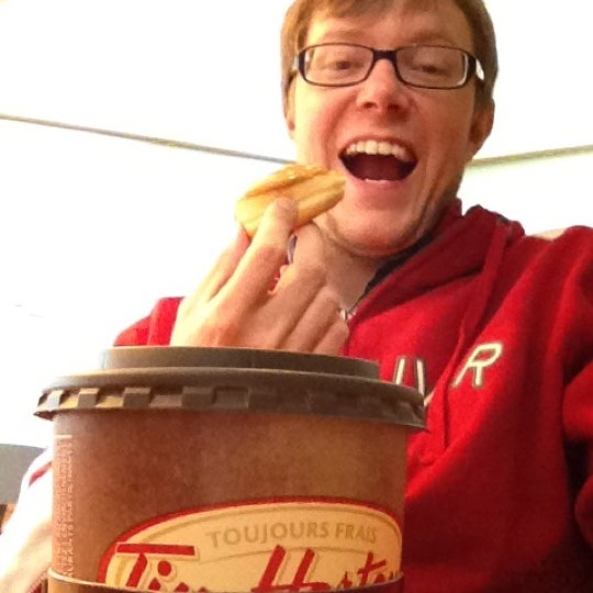 Photo taken at Tim Hortons by Cameron S. on 4/4/2012