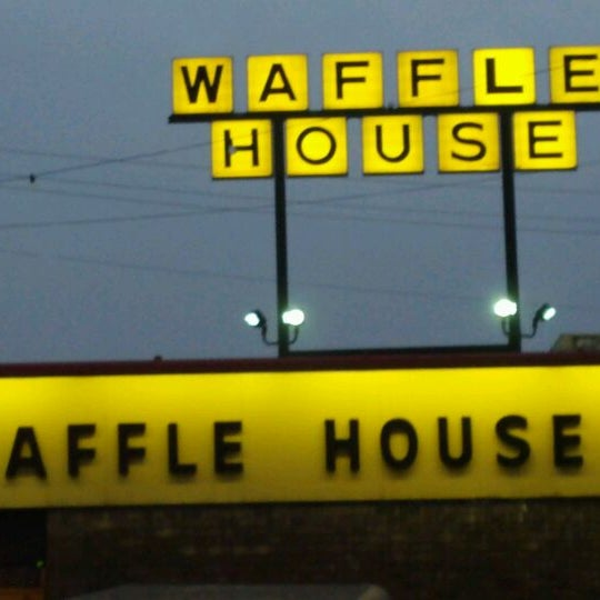 Photo taken at Waffle House by Courtney B. on 2/1/2012