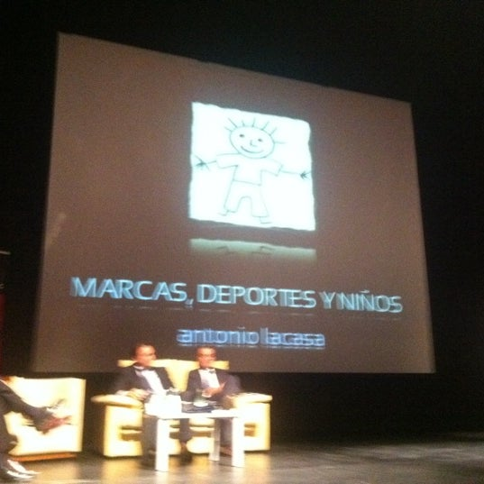 Photo taken at Auditorio Picasso by Miguel P. on 4/19/2012