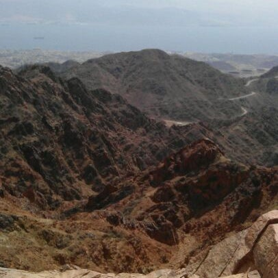 Photo taken at Eilat Mountains / הרי אילת by Sarah S. on 3/23/2012