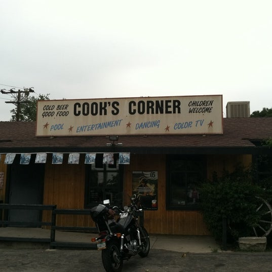 Photo taken at Cook's Corner by Sherry G. on 4/24/2012