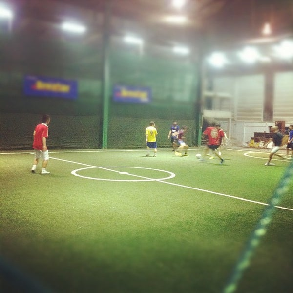 Photo taken at SD Indoor Soccer by Sharkrit I. on 12/7/2011