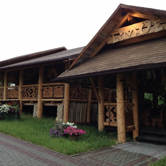 Снимок сделан в Rixos Prykarpattya пользователем TASYA M. 5/13/2012