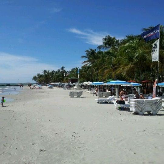 Photo taken at Playa El Yaque by Eduardo A. on 11/14/2011