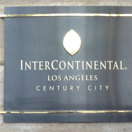 Photo taken at InterContinental Los Angeles Century City by Don P. on 3/23/2012