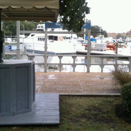 Photo taken at Shelter Cove Marina by Penny N. on 9/20/2011