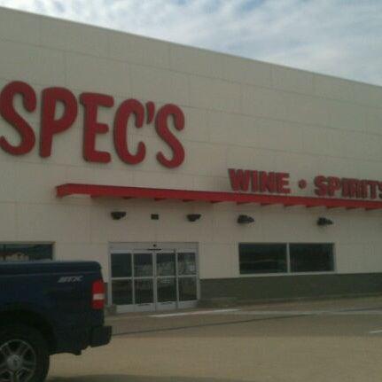Photo prise au Spec's par E . le12/19/2011
