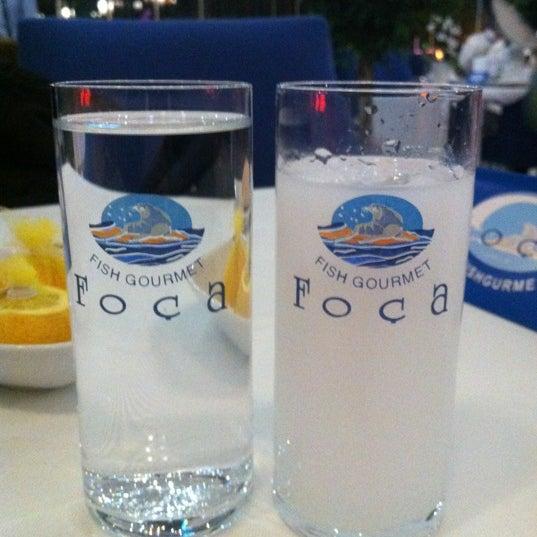 10/20/2011 tarihinde Cenk K.ziyaretçi tarafından Foça Fish Gourmet'de çekilen fotoğraf
