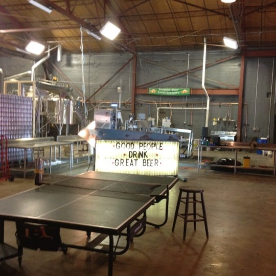 Photo taken at Good People Brewing Company by Mitch E. on 7/4/2012