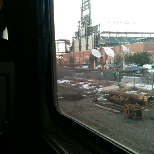 Photo taken at Denver Amtrak (DEN) by Nicole M. on 1/4/2012