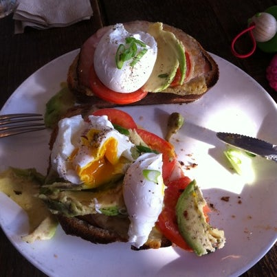 The full eggs with avocado is just about the perfect breakfast.
