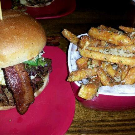 Photo taken at G Burger by Jason L. on 2/22/2012