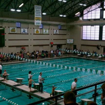 Photo taken at Aquatic and Fitness Center - George Mason University by MrTofer on 12/3/2011