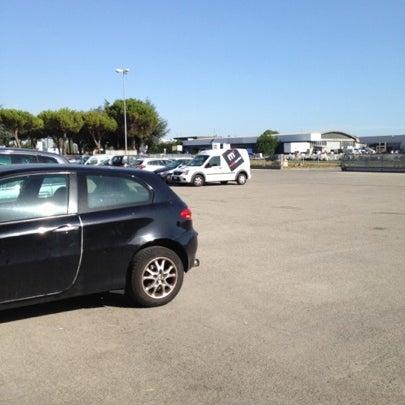 Photo taken at Parcheggio Via Sassonia by Namer M. on 7/19/2012