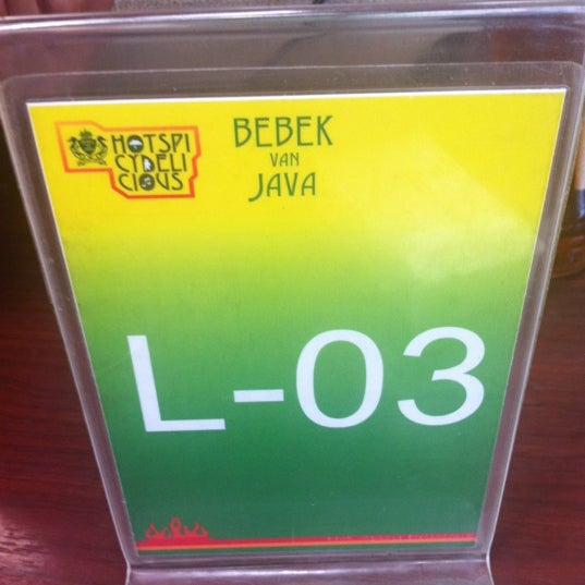 Photo taken at Bebek Van Java by Tuanku S. on 3/8/2012