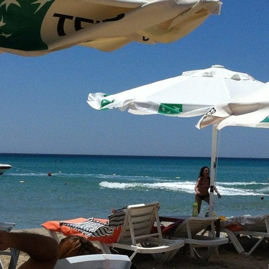Photo taken at Ramo Beach by Jinet Zalma on 7/1/2012