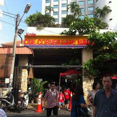 Photo taken at 1 Corner Cafe by Lee H. on 8/20/2012