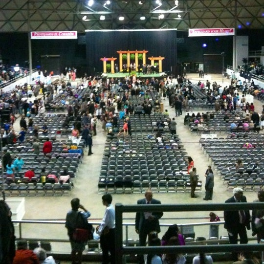 Photo taken at Bell County Expo Center by Christa T. on 7/20/2012