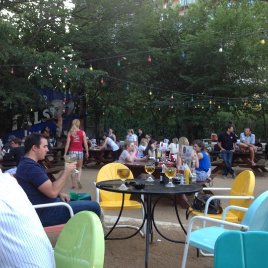 Photo taken at Katy Trail Ice House by Amy M. on 5/22/2012