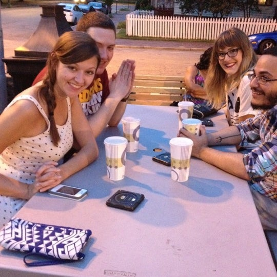 Photo taken at Alamo BBQ by Cristina C. on 8/18/2012