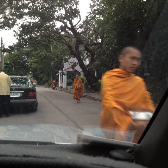 Photo taken at ลานใส่บาตร by Som O D. on 7/11/2012