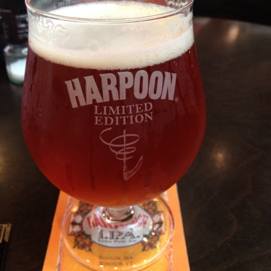 Photo taken at Harpoon Tap Room by Cameron S. on 8/31/2012