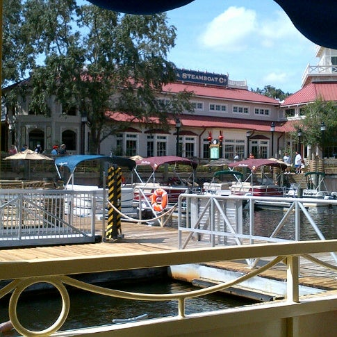 Photo taken at Disney's Port Orleans Riverside Resort by Christine S. on 8/30/2012