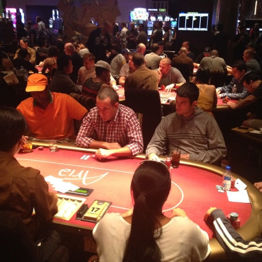 Photo taken at Aria Poker Room by Erdem A. on 9/4/2012