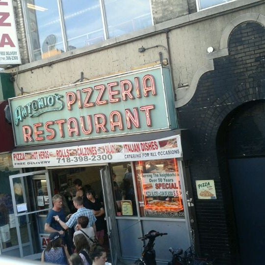 Photo taken at Antonio's Pizzeria by Debbie H. on 4/16/2012