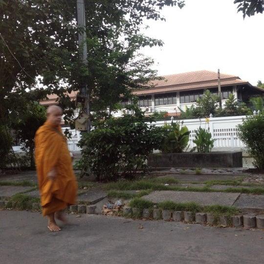 Photo taken at ลานใส่บาตร by Som O D. on 7/16/2012