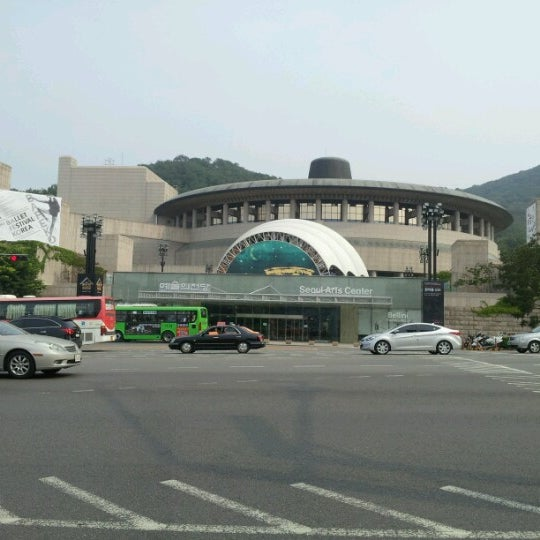 Photo taken at Seoul Arts Center by Harriet Kangeun Lee on 6/24/2012