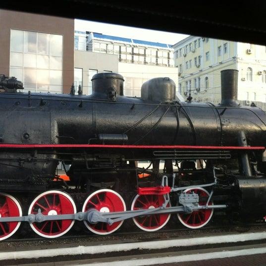 Photo taken at Железнодорожный вокзал Владивостока / Vladivostok Railway Station by Ольга Д. on 6/30/2012