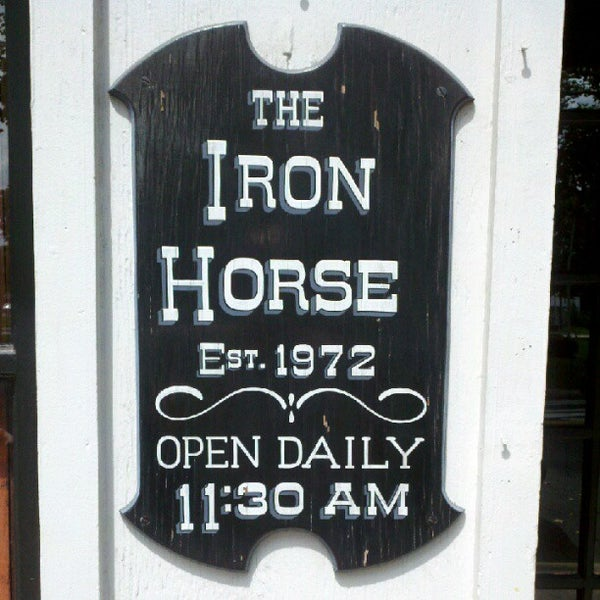 Photo taken at The Iron Horse by David N. on 8/5/2012